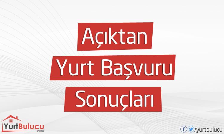 KYK 26 Mart'a Kadar Açıktan Alınan Yurt Başvuru Sonuçları Açıklandı!